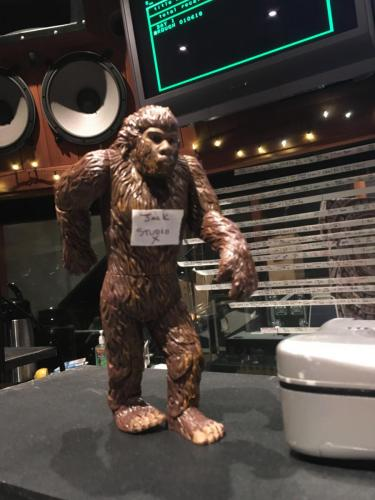 Alice in Chains at Henson Studio B-Bigfoot siting!