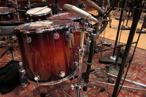 Ghost Drums  at Blackbird Studio A
