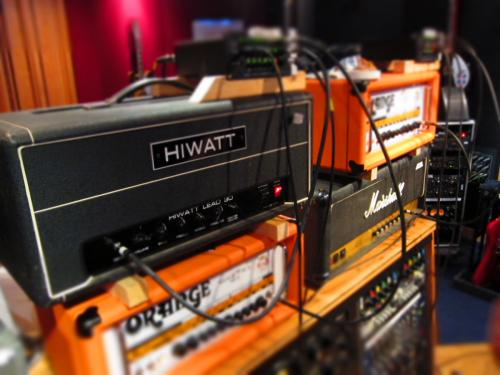 Ghost guitar rig Blackbird Studio A