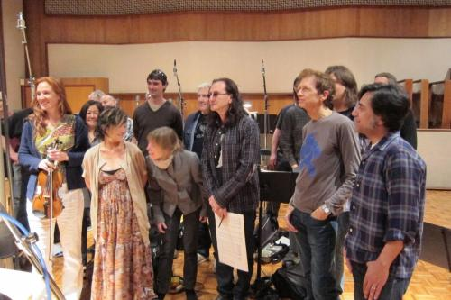 Rush Ocean Way String session wrap